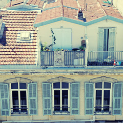 French Rooftops, Nice, France