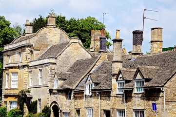 Cotswold buildings, Burford © Arena Photo UK