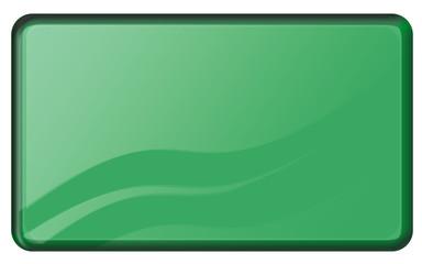 bouton vert rectangulaire