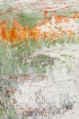 Ausschnitt eines abstrakten Acrylgemäldes