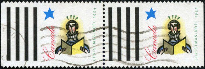stamp printed by Canada, shows Soloist