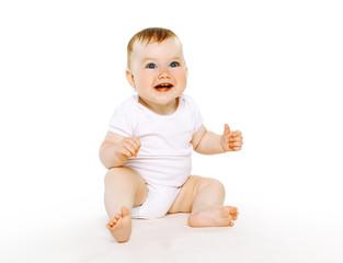 Beautiful cute baby smile