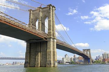 Printed kitchen splashbacks Brooklyn Bridge The Brooklyn Bridge, New York