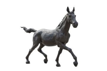 八街駅の野馬像