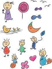Children Doodle 2