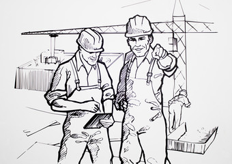 Workers illustrations
