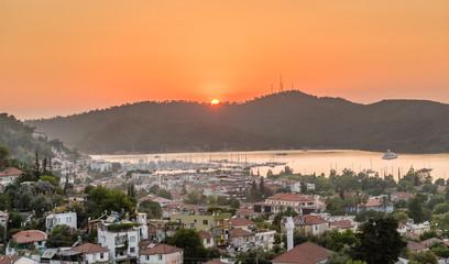 Sundown at Fethiye