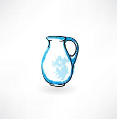 pitcher grunge icon