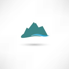 blue mountains symbol