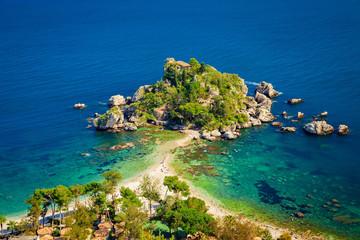 Isola Bella at Taormina Fototapete