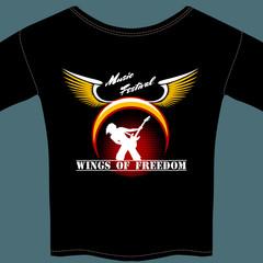 Rock festival t-shirt