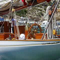 Accastillage de voilier