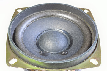 diaphragm of the low frequency speaker