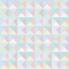 Colorful triangle and lines pattern1