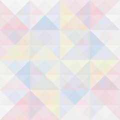 Colorful triangle and lines pattern6