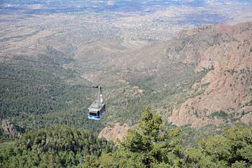 Luftseilbahn, Sandia Peak, New Mexico