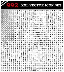 992 icon set vector for you design
