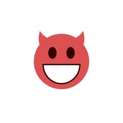 Wicked flat emoji
