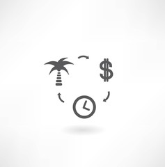 Time Management Concept Present By The Businessman and