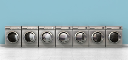 Washing Machine Empty Row