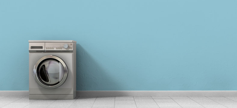 Washing Machine Empty Single