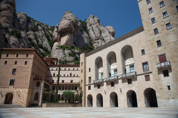 Montserrat Monastery is a spectacularly beautiful Benedictine
