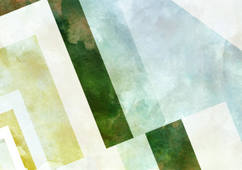 Colorful Retro Paper Background with grunge effects.