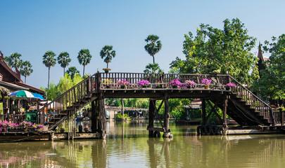 Ayutthaya floating market, Thailand