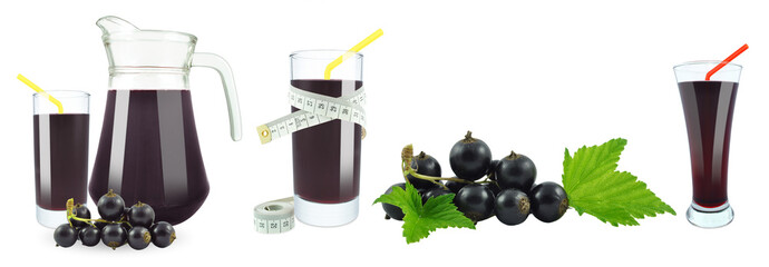 blackcurrant juice and meter