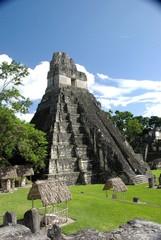 Ruines maya au Guatemala