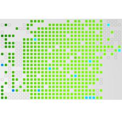Illustration of Pixelated Background