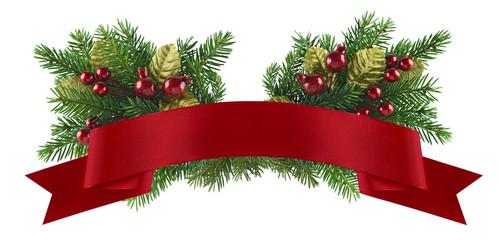 Festive christmas element