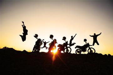 çılgın motorsikletçiler