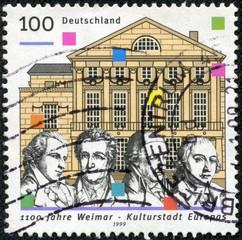 National Theatre, Schiller, Goethe, Wieland and Herder