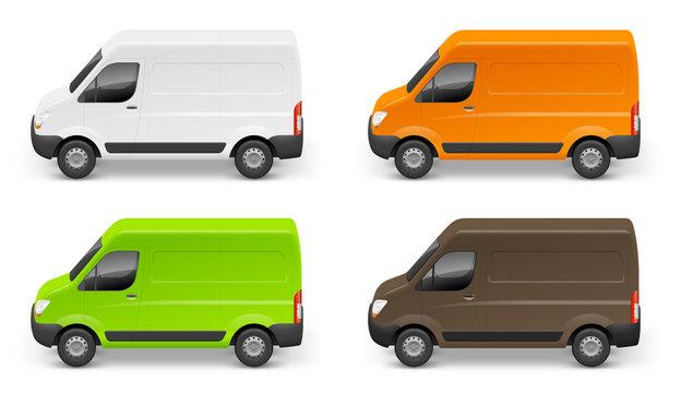 Camionnettes vectorielles 1