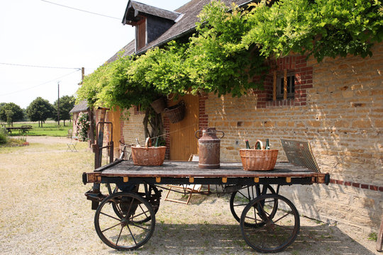 The traditional Normand shop of local delicates