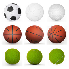 sport balls collection