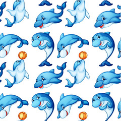 Seamless design of dolphins