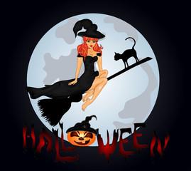 Happy Halloween Poster. Halloween banner .
