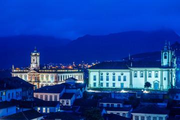 Ouro Preto a small city in Minas Gerais, Brazil