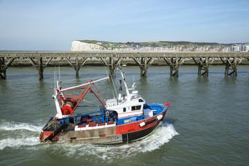 Bateaux de Pêches Le Tréport