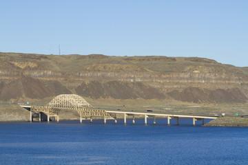 I-90 Bridge over the Columbia River Gorge Vantage WA
