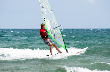 Windsurfer/Teenager