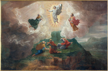 Bruges - The Transfiguration of the Lord in st. Jacobs church