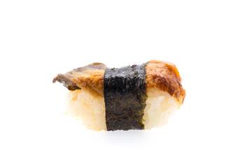 Sushi ell isolated on white