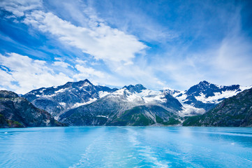 Glacier Bay in Mountains in Alaska, United States Wall mural