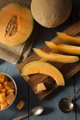 Health Organic Orange Cantaloupe