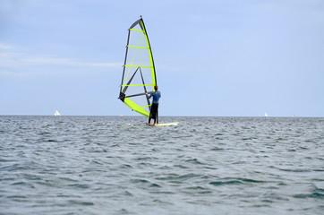Windsurfen auf der Ostsee