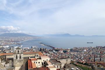 Panorama of Naples - Italy