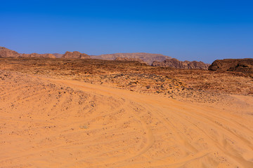 Papiers peints Desert de sable Desert in Egypt